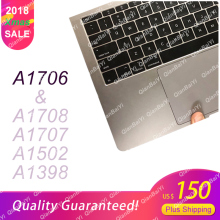 95% NEW Genuine Top Case for MacBook Pro 13″ A1706 A1708 with Battery and Trackpad 2016 2017 661-05334 US English Layout