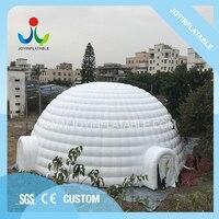 Наружная надувная купольная палатка Dia 21 м для события/вечерние надувная Праздничная палатка с водостойким и огнестойким, надувная шатер на
