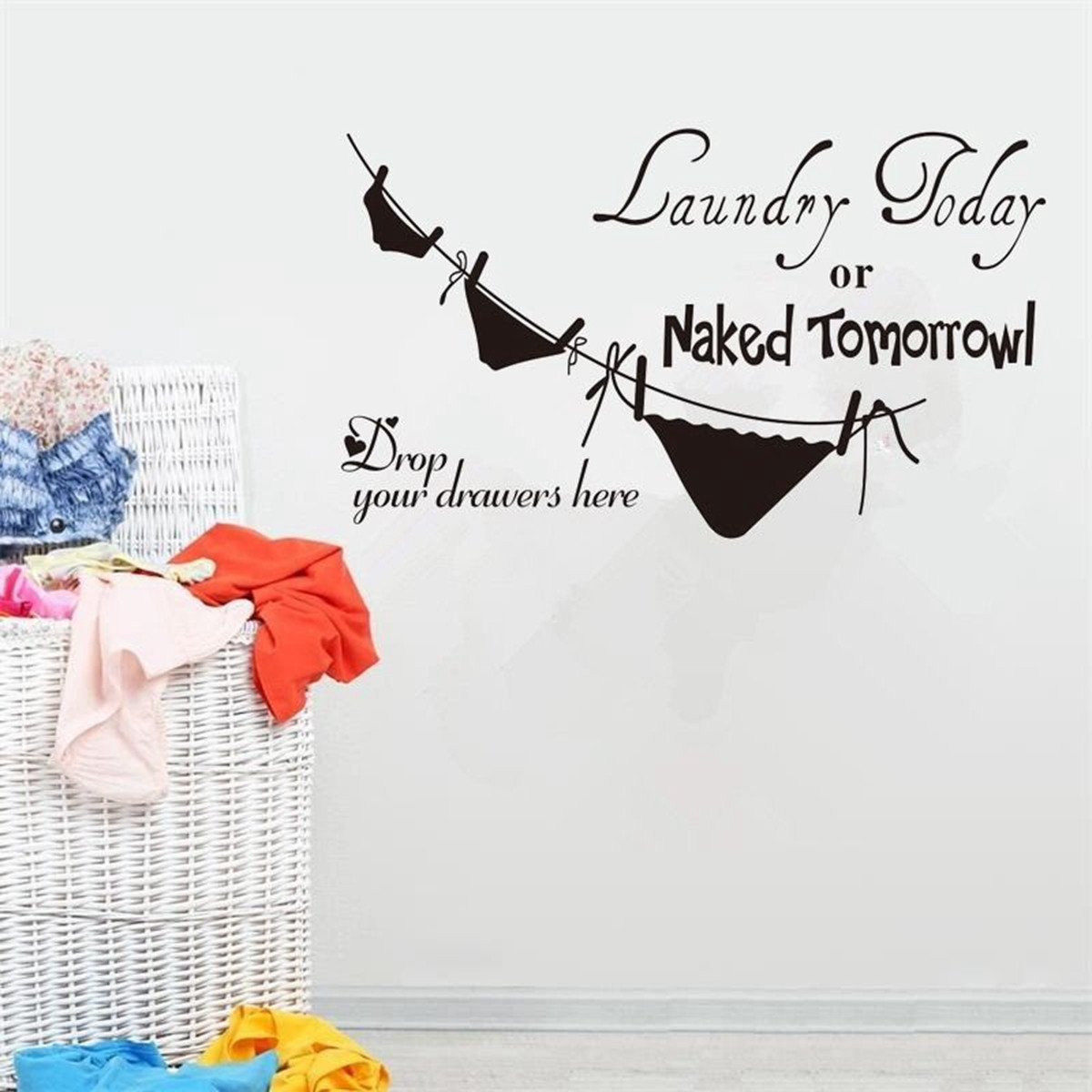 PVC Removable Wall Stickers Font