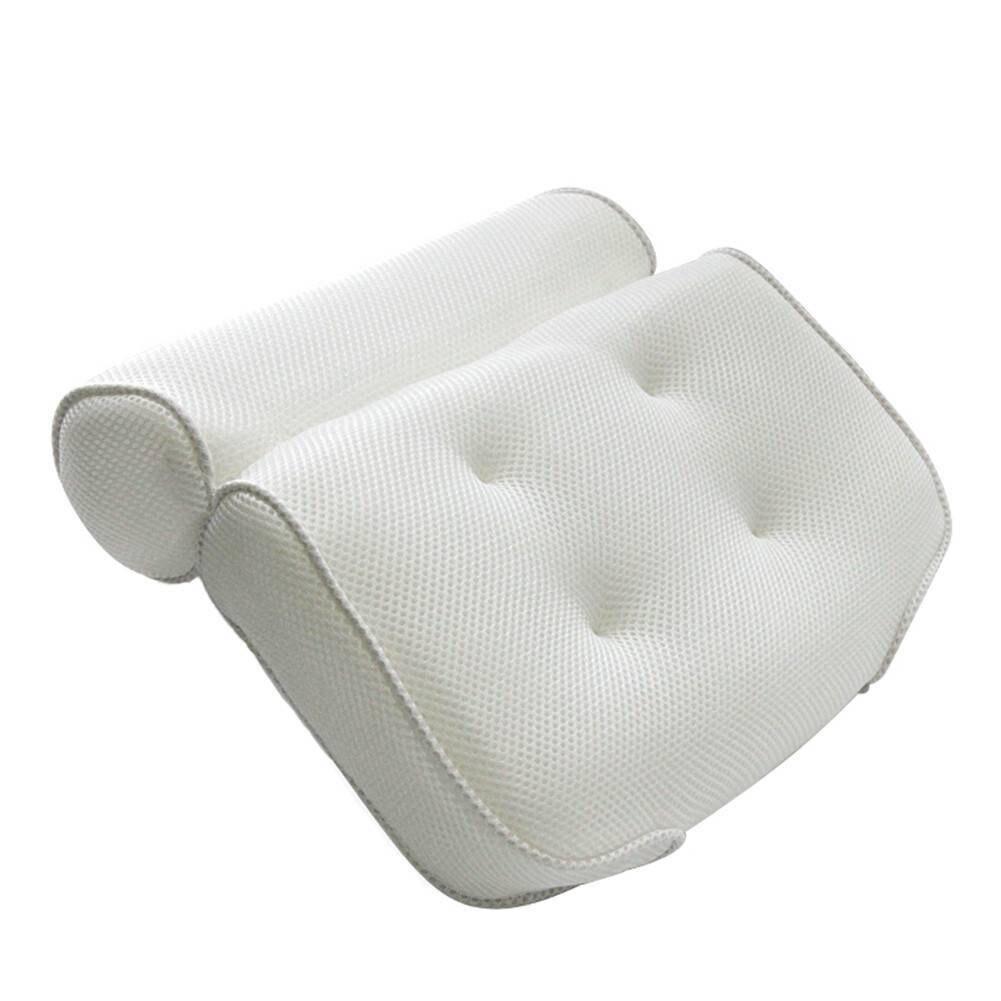 HTB18mtKaznuK1RkSmFPq6AuzFXaw High Quality Bath Tub Spa Pillow Cushion Neck Back Support Foam Comfort Bathtub 6 Suction Cup