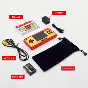 Image 5 - Data Frog Portable Handheld Game Players Built in 638 Classic Games Console 8 Bit Retro Video Game For Gift Support AV Out Put