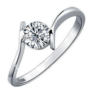 Online 925 Silver Ring Send Girlfriend Rings Valentine Day