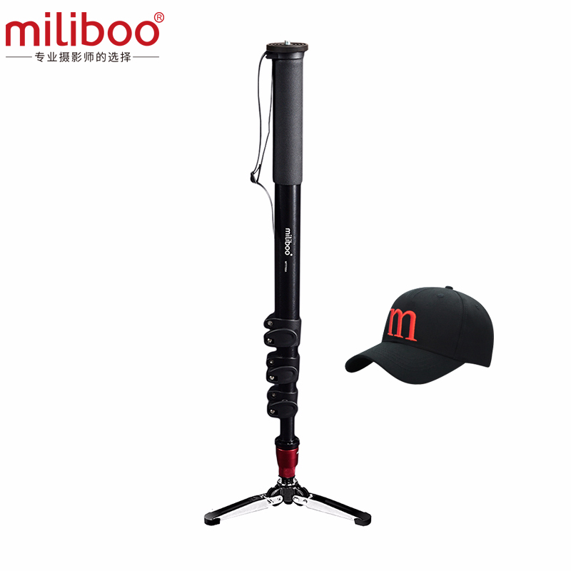 miliboo MTT705A without head Portable Aluminium Monopod for Professional Camcorder Video Camera DSLR Tripod Stand