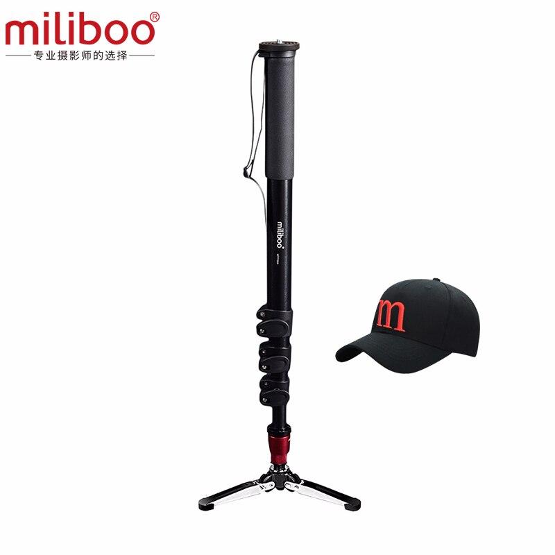 Miliboo MTT705A (senza testa) In Alluminio Portatile Monopiede per Videocamera Professionale/Video/Fotocamera/DSLR TreppiedeMiliboo MTT705A (senza testa) In Alluminio Portatile Monopiede per Videocamera Professionale/Video/Fotocamera/DSLR Treppiede