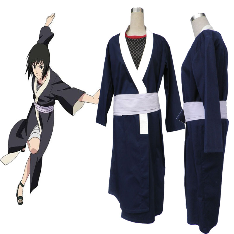 Anime Ninja Cloth Naruto Rin Cosplay Costume Girl Women Suit Kimono
