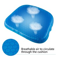 Seat Cushion Non Slip Chair Pad Breathable Honeycomb Prevents Soft Sit Cushion Sweaty Bottom for Office Car Wheelchair