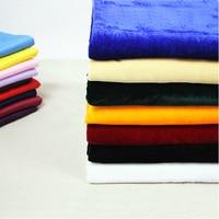 Wholesale 12m 1 6m Wide Pleuche Cloth Fabrics Coral Fleece Fabric Curtain Tablecloth Wedding Party Background