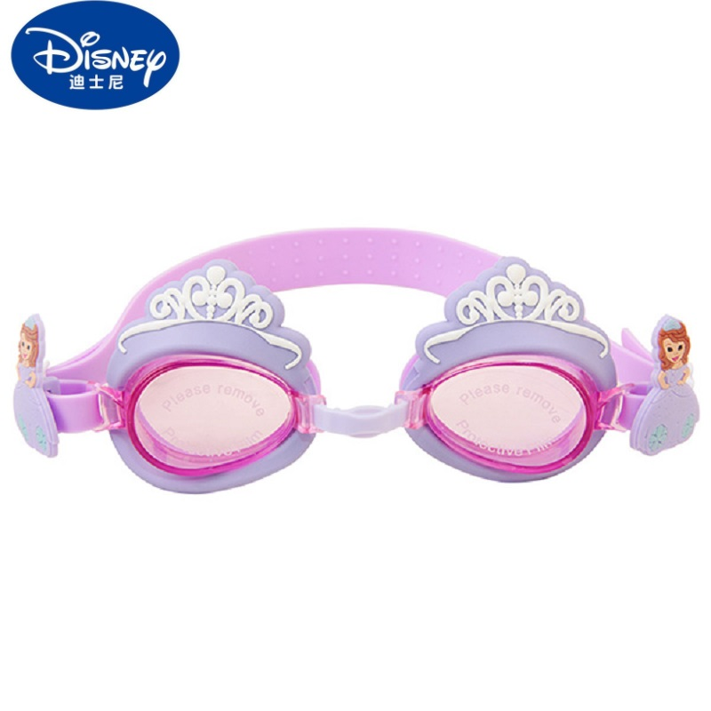 Disney D702031 - A Children Cartoon Swimming Goggles Kids Swimming Glasses Eyeglasses HD Anti-Fog High Elastic Stretch Resistant