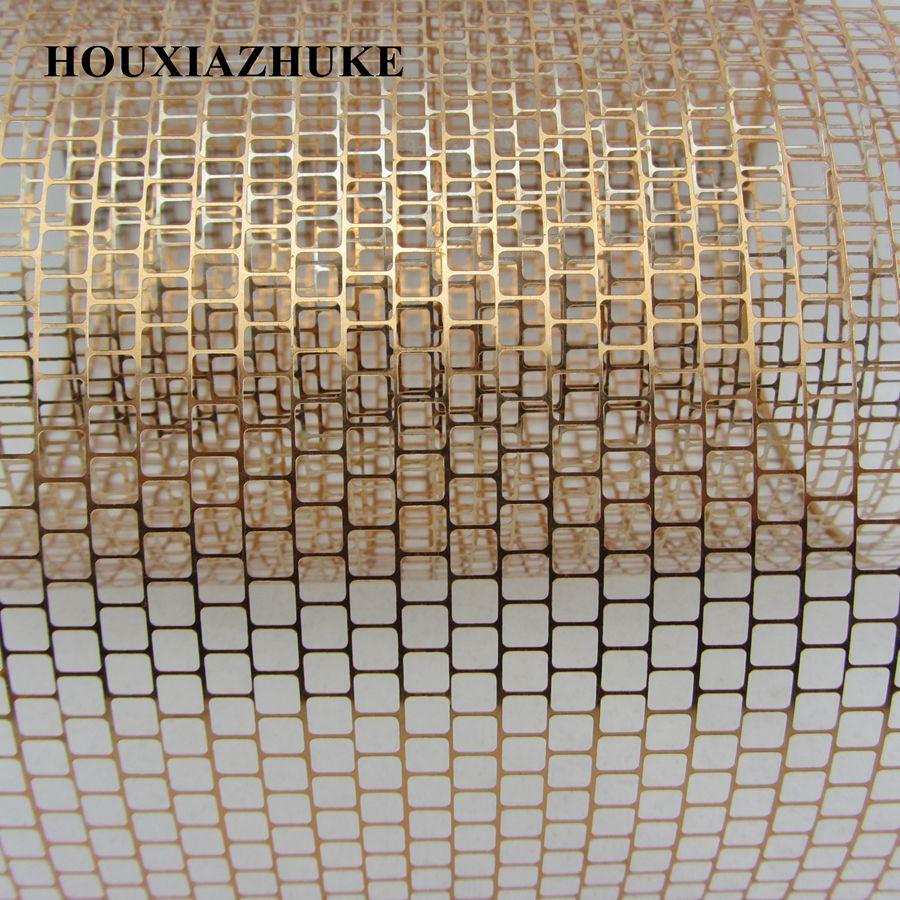 US $13.01 25% СКИДКА|25 ярдов в рулоне 5*5 мм квадратное отверстие коричневый цвет панчинелла блестки Сетка лента для украшения|sequin ribbon|sequin rolls|square sequins - AliExpress