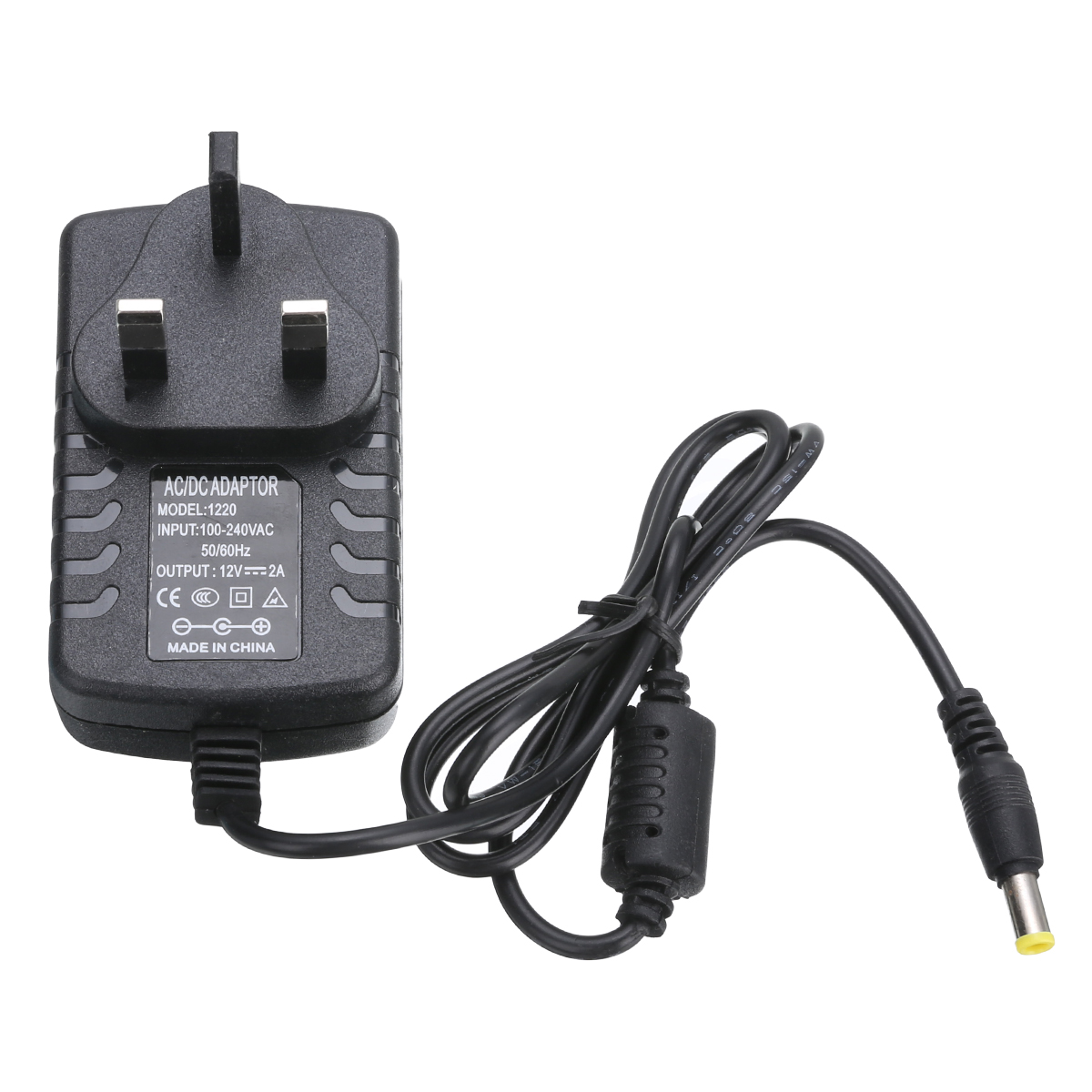 12V 2A UK Plug Power Supply Black Power Adapter Charger 100cm Cable For Makita BMR 100/101 Site Radio 8x5x6.5cm(China)