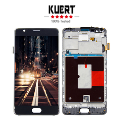 Free Shipping For Oneplus 3 A3000 A3003 Touch Screen Digitizer LCD Display Assembly Frame + Tools