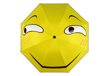 Anime funny ridiculous antic humor buffoonery expression Daily Folding Umbrella Cute Cosplay Collection