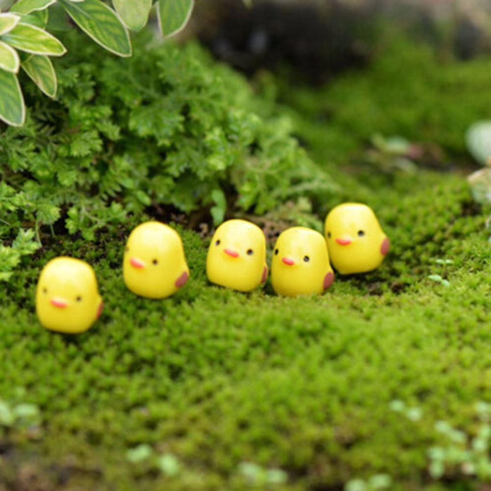 10 Pcs Micro Paisagem Frango Cabochão Kawaii Resina Artesanato Estatuetas  Em Miniatura Mini Jardim Decoração Terrário Part 78