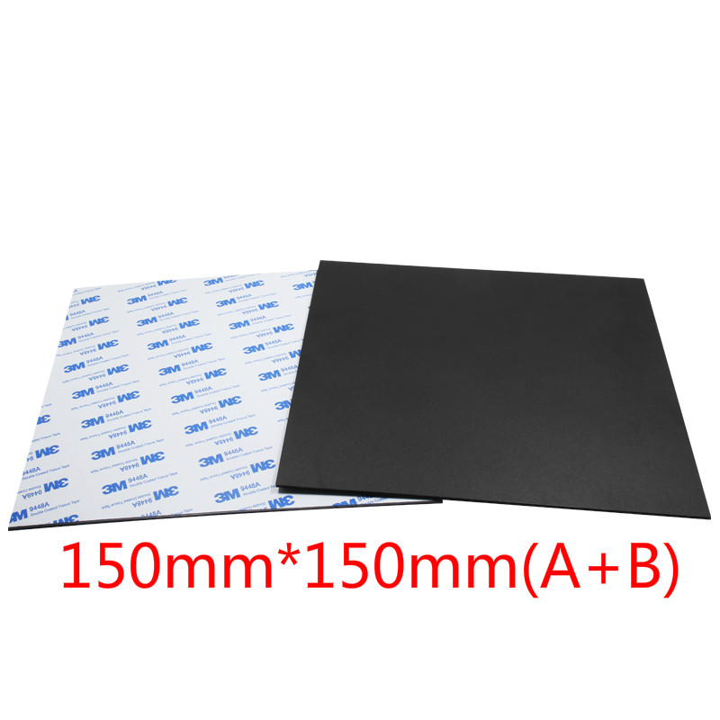 Clever New Magnetic Print Bed Tape Heat Paper For 3d Printer Print Sticker 220/214/300mm Square Build Plate Tape Surface Flex Plate And To Have A Long Life. Office Electronics
