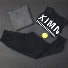2018 New Women' s Yoga Suit Set Sport Bra Long Sleeve Shirts Pants 3 Pieces Fitness Clothing Gym Breathable Sportswear For Women