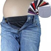 Maternity Waistband Belt For Pregnancy Jeans Accessories ADJUSTABLE Elastic Waist Extender Clothes Pants Waistline 1Pcs Cotton L