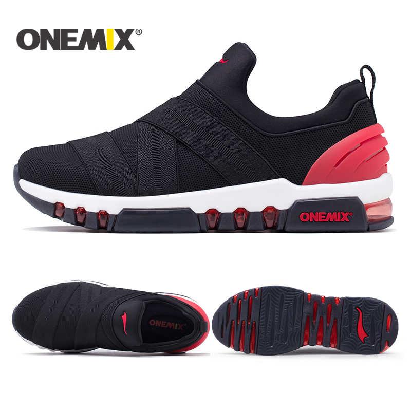 Onemix 2018 جديد الرجال احذية الجري هايت أحذية رياضية تنفس للنساء في الهواء الطلق الرحلات المشي احذية الجري للرجال