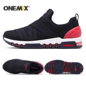 Image 5 - Onemix chaussures de course pour homme, baskets de haute qualité respirantes, chaussures dextérieur, trekking, pour la course, nouvelle collection 2018