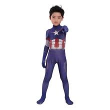 Kids Captain America Cosplay Costume  halloween costumes for kid Captain costume