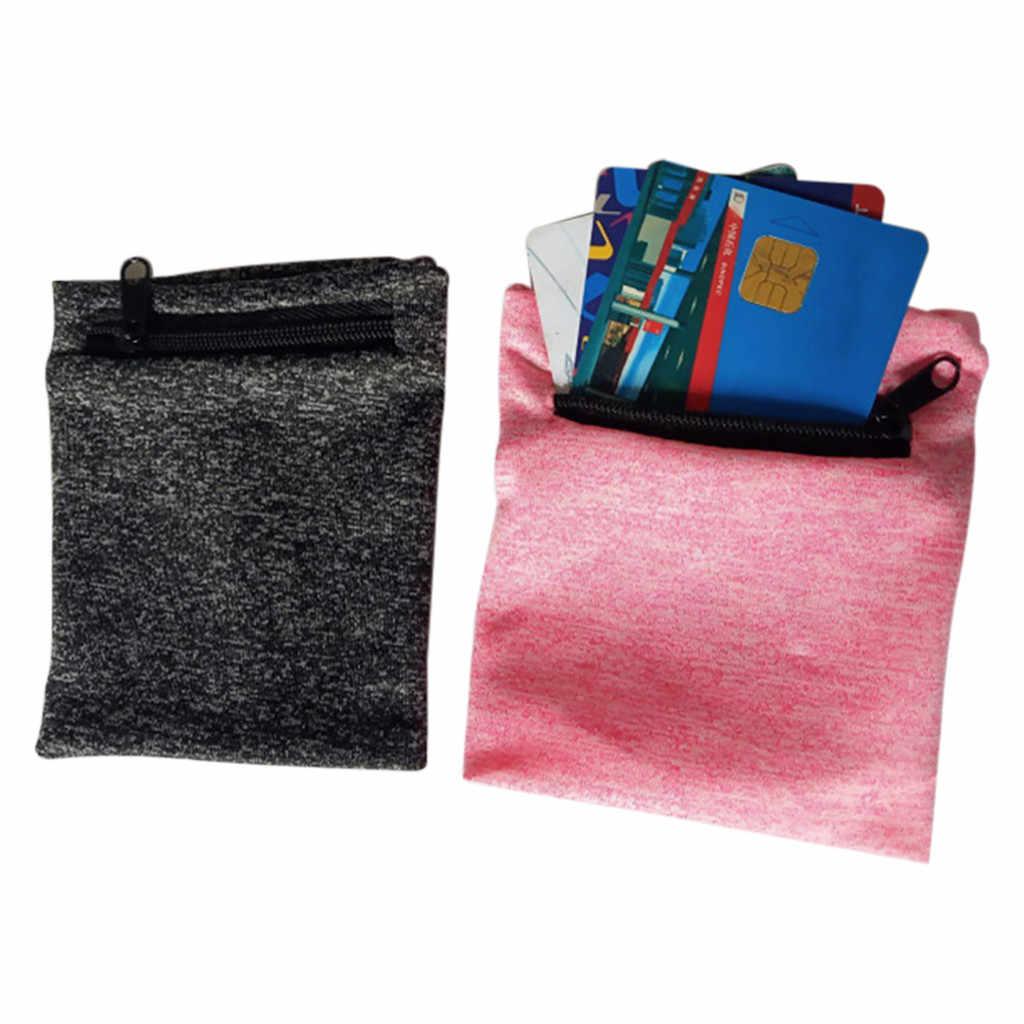 متعددة الوظائف المعصم الفرقة سستة الكاحل التفاف الرياضة شريط للرسغ محفظة تخزين ممارسة حقيبة قماش samrtphone تشغيل XYT0FA