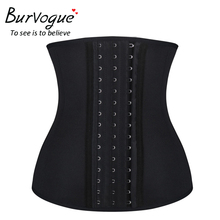 Burvogue Women Waist Trainer Belt Sweat Sauna Neoprene Body Shaper Waist Slimming Belt Weight Loss Shapewear Plus Size