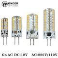 Lâmpada led G4 ACDC12V AC220/110 v LED G4 Lâmpada 3W5W6W9w G4 SMD3014 G4 Holofotes de Iluminação Levou luz de velas substituir halogênio iluminação