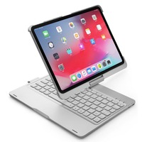 Smart Wireless Bluetooth Keyboard Tablet Case 360 Rotation Keyboard Cover NEW Ultra thin for iPad Pro 11 inch 7 Color Backlit