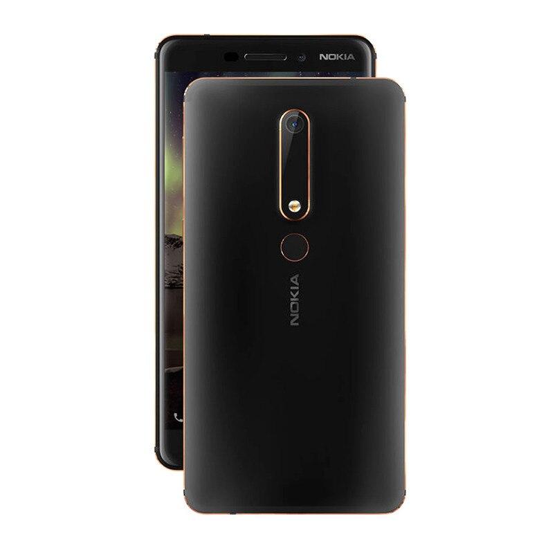 Nokia 6 2nd 5,5 Snapdragon 630 Octa Core 4G LTE Handy 4GB RAM 32 GB/ 64GB ROM 16MP 8MP Dual Kamera Android Handy - 4