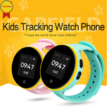 new1.22'' ips Screen GPS Smart Kid Watch SOS Call Location Finder Locator Tracker for Children Anti Lost Monitor Baby Wristwatch