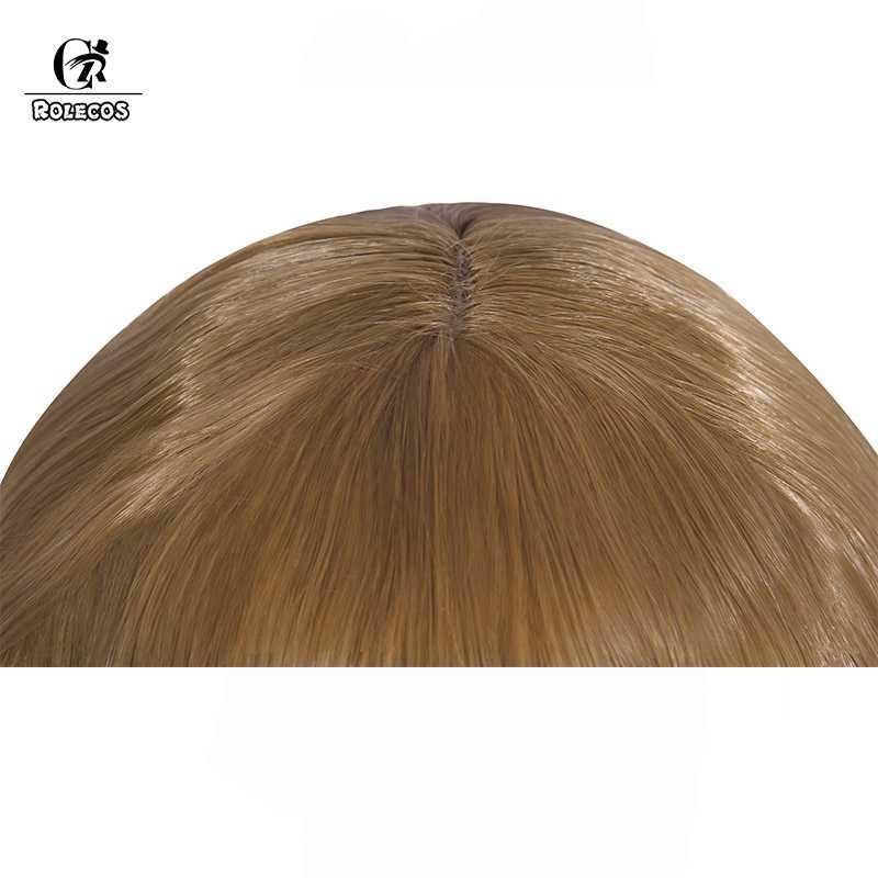 ROLECOS кукла Аннабель Косплэй Головные уборы волосы на Хэллоуин в Conjuring Косплэй синтетические волосы 62 см длинная коса заколки для девочек