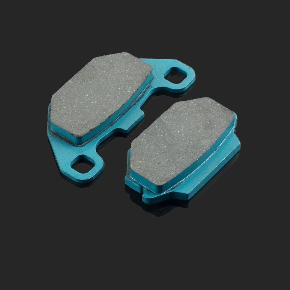 Motorcycle Front Or Rear Brake Pads Fit For <font><b>SYM</b></font> COMBIZ125 11-15 JOYRIDE150 01-06 <font><b>HD200</b></font> 04-07 GT500 04 SK125 03-04 image