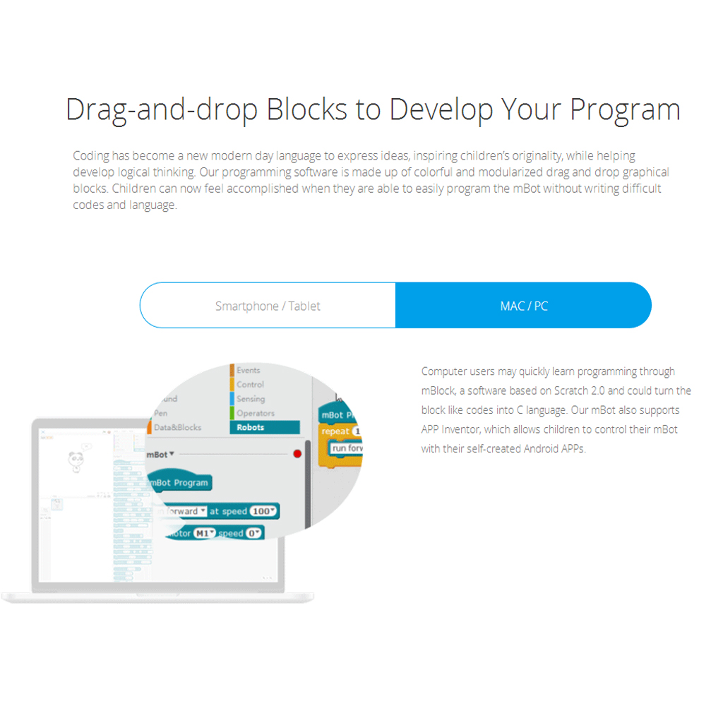 Mblock 5 App