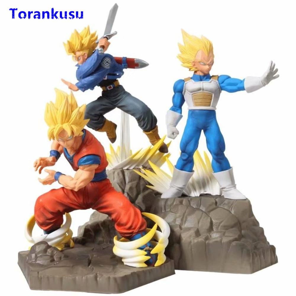 Anime DRAGON BALL Dragonball Z Son Goku Saiya PVC Action Figure Figures Toy Doll
