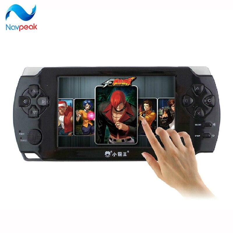 NEW HOT 4.3 Pouce Tactile De Poche Console de Jeu intégré Classique Jeux De Poche Parfait Soutien Jeux