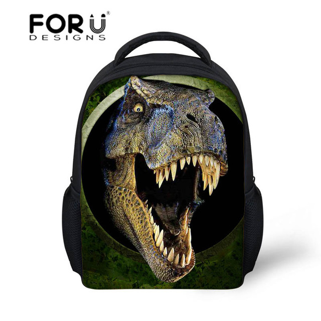 2016 Newest Small Child School Bag for Boys Backpack,3D Animals Dinosaur Back pack for Kids,Girls Small School bag for Child