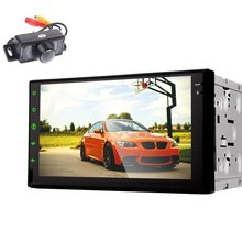 Android 4 4 7 2 Din Car Stereo Full Touch Screen Car Radio No dvd Audio