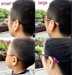 10 زوج/وحدة مكافحة زلة سيليكون نظارات الأذن السنانير للأطفال والكبار جولة القبضات النظارات الرياضية معبد نصائح لينة الأذن هوك