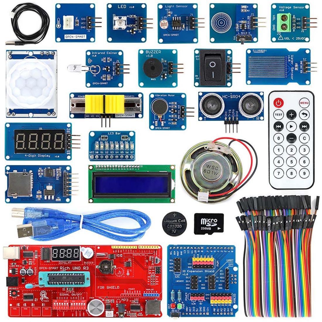 MODIKER Diy High Tech Programmable Toys For UNO R3 For Atmega328P Development Board Module Kit For Arduino