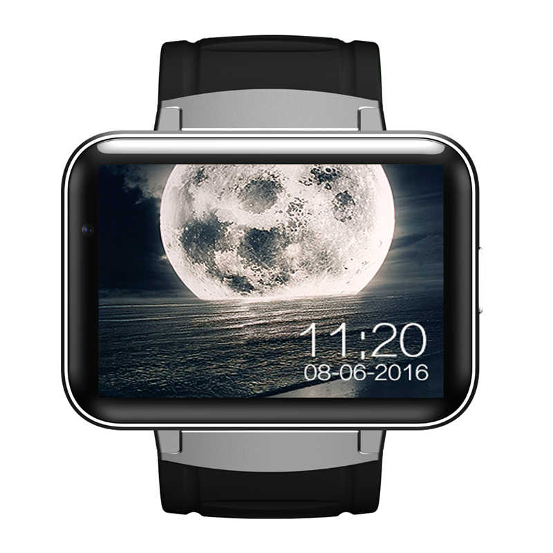 Newest DM98 Smart Watch 3G WIFI GPS Android 5 1 OS MT6572A Dual cor CPU 2