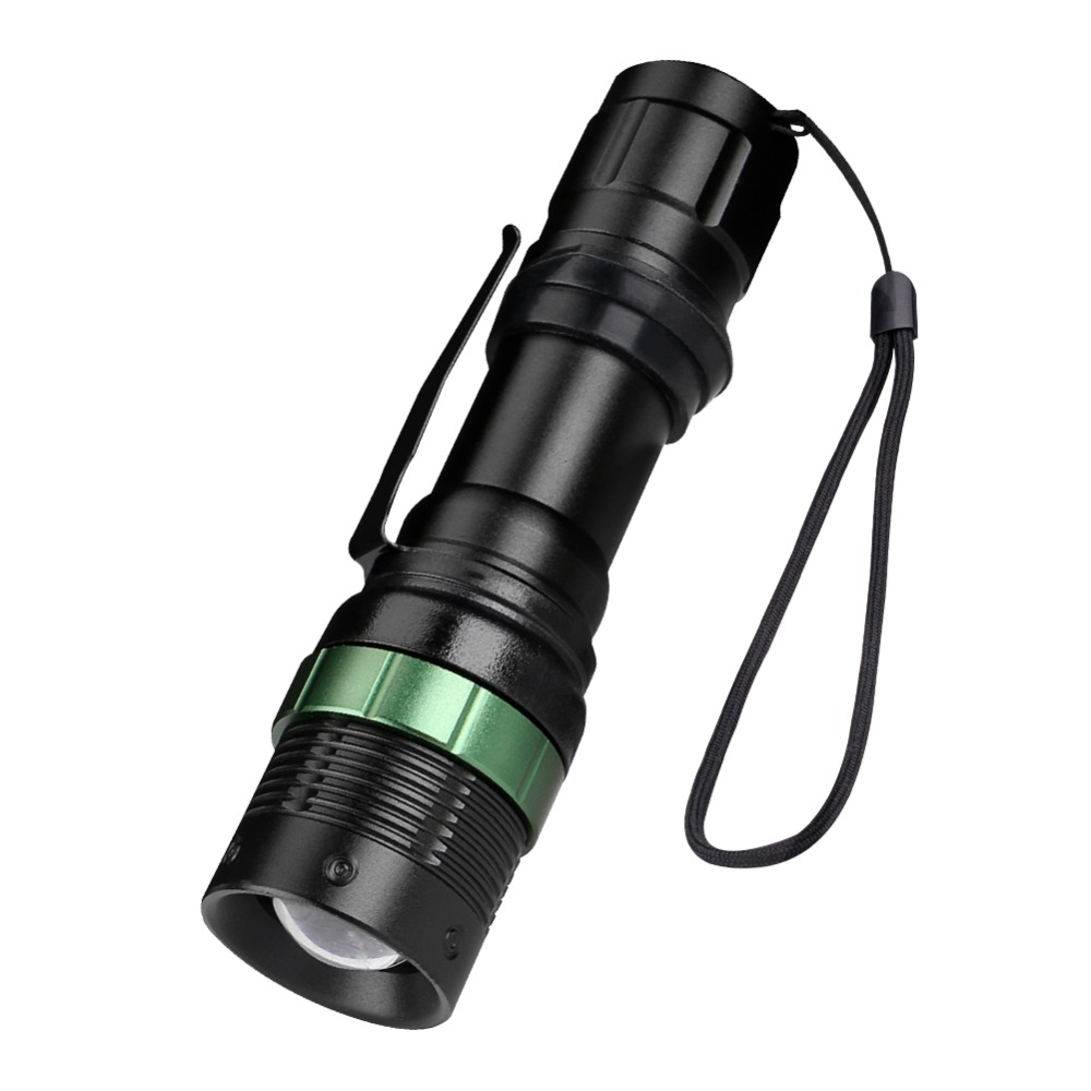 Q5 800lm 3 Modes Led Tactical Flashlight Waterproof Lamp Torch Hunting Flash Light Lantern For Camping,use 18650 Aaa Refreshing And Beneficial To The Eyes Lights & Lighting