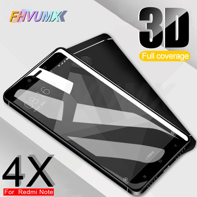 3D 9H Full Cover Tempered Glass On The For Xiaomi Redmi 4 4A 4X 5 5A 5 Plus Screen Protector For Redmi Note 4 4X Protective Film3D 9H Full Cover Tempered Glass On The For Xiaomi Redmi 4 4A 4X 5 5A 5 Plus Screen Protector For Redmi Note 4 4X Protective Film