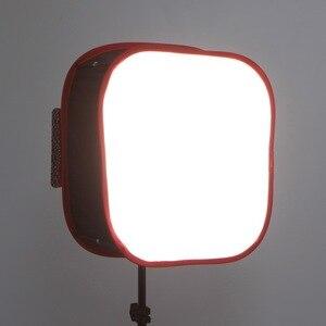 Image 2 - Meking pliable Softbox 40*40cm pour Yongnuo YN600 YN900 panneau de lumière LED modificateur déclairage Portable pour Studio