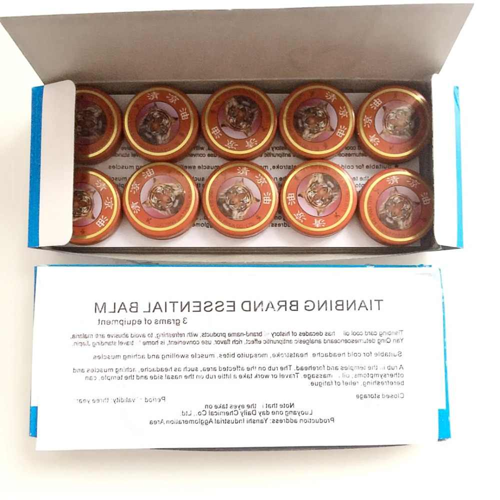 6 g/Pcs Vietnam rouge tigre baume retour corps Relaxation à base de plantes huile essentielle soulagement de la douleur Patch médical plâtre pommade articulations douleur