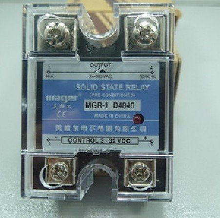 Freeshipping Solid state relay 40 a MGR - 1 D4840 DC - AC mager ssr 40a dc ac solid state relay quality goods mgr 1 d4840