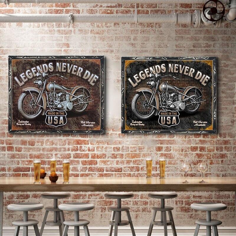 USA Vintage métal étain signes Route 66 numéro de voiture Plaque d'immatriculation Plaque affiche Bar Club mur Garage décoration de la maison 1001 (111)
