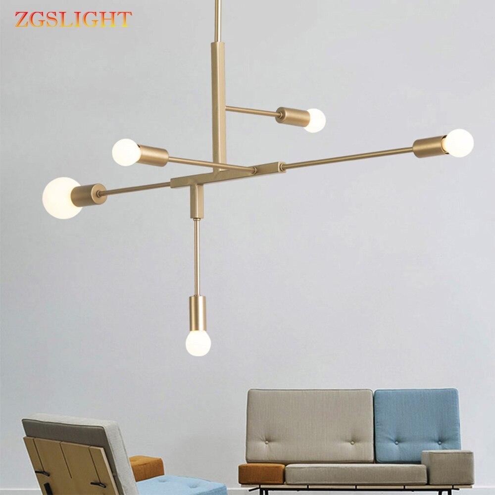 Moderne Nordic Gold E27 Led Hanglampen Slaapkamer Eetkamer Keuken Hanglampen For A Eetkamer Led Lamp Edison Gloeilamp