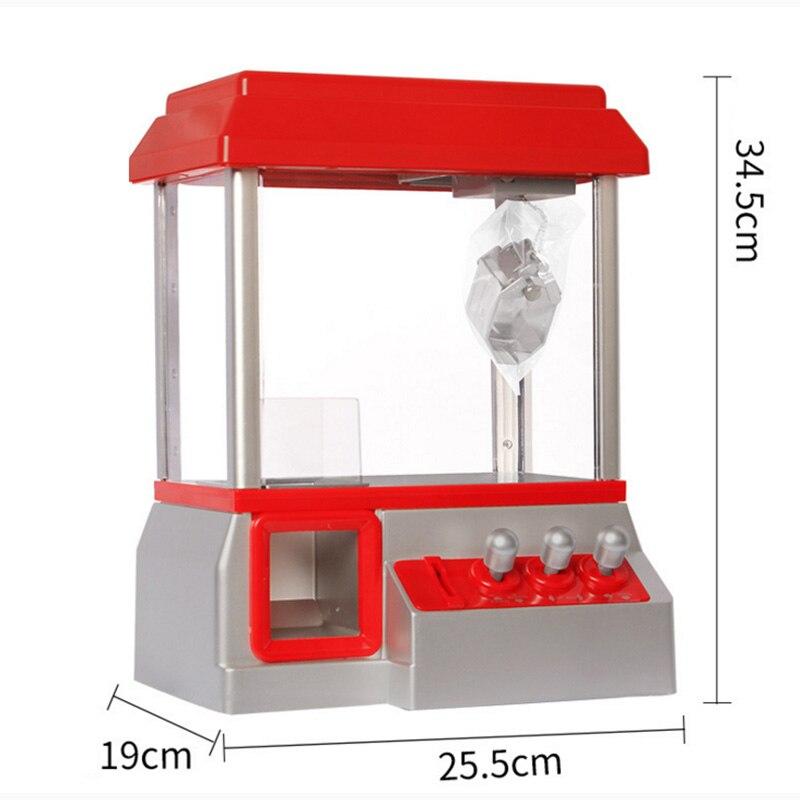 Alta calidad caramelo Grabber los niños fiesta de cumpleaños regalo favores de escritorio Mini muñecas moneda operado Grabber máquina de juego de Juguetes - 4