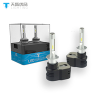 2PCS T5 H3 led car headlight bulbs H7 H11 H1 led 9005 9006 9012 30W 4200LM with efficient cooling system from TINSIN LIGHTING
