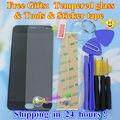 """Высокое Качество Для Meizu M2 mini Сенсорный Экран Digitizer + ЖК-Дисплей Для Meizu M2 mini Мобильный Телефон 1280*720 5.0 """"черный Цвет Подарки"""