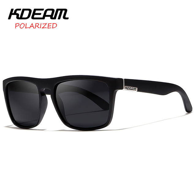 e2e4248c4654ad KDEAM spectacles Polarized Sunglasses Men Sport Eyewear Women oculos de sol Reflective  Coating UV400 zonnebril With Case KD156